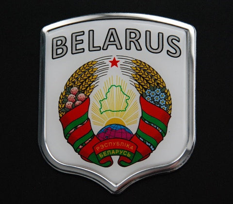 Belarus Decal Badge Sticker