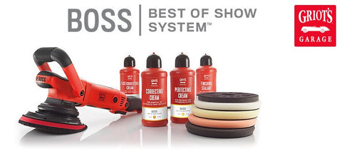 THE BOSS™ G15, 15mm Long-Throw Orbital (Special Promotion) FREE Polisher Creams
