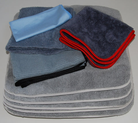 "Micro Fiber Auto Detailing Towel Set ""Approved by Glen E"""