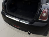 2008-2014 Mini Cooper II R56 - Stainless Steel Rear Bumper Protector