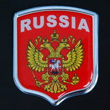 Russia Country Decal Badge Sticker