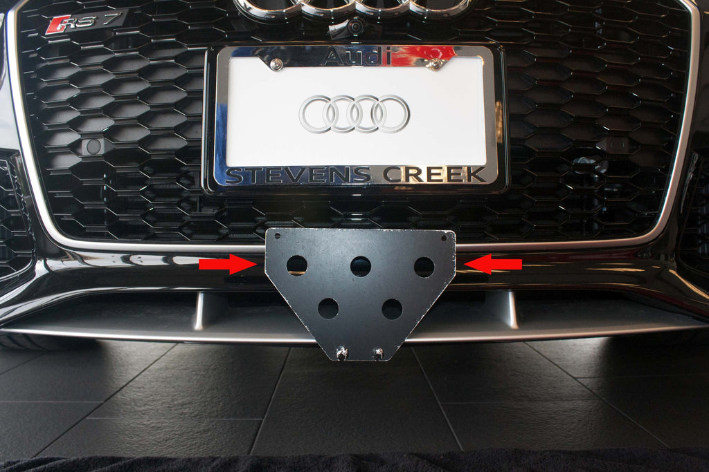 Front Grille / License Plate Holder - AudiWorld Forums