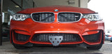 2015-2016 BMW M4 (alternate bottom mount option)- Quick Release Front License Plate Bracket