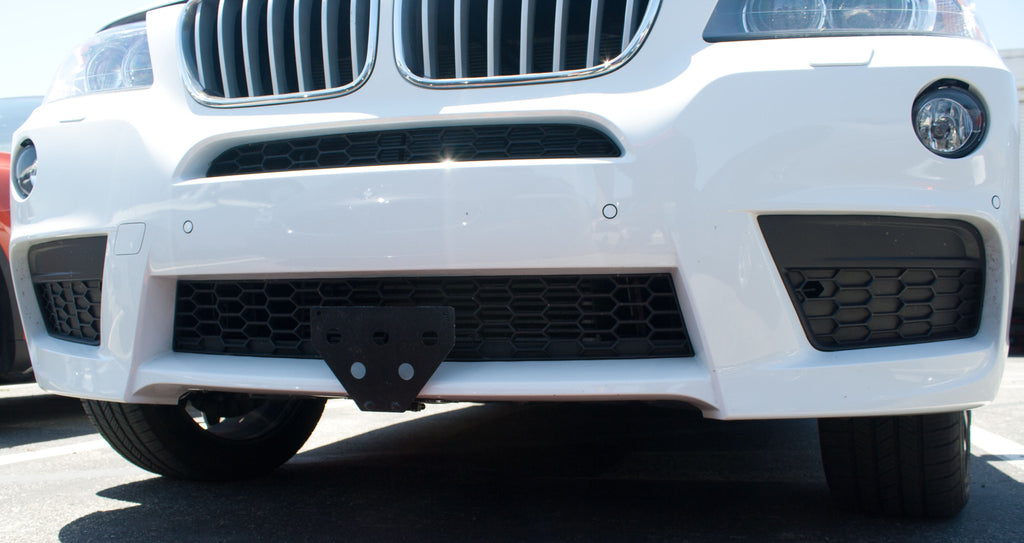 2010-2014 BMW X3 M Sport - Quick Release Front License Plate Bracket