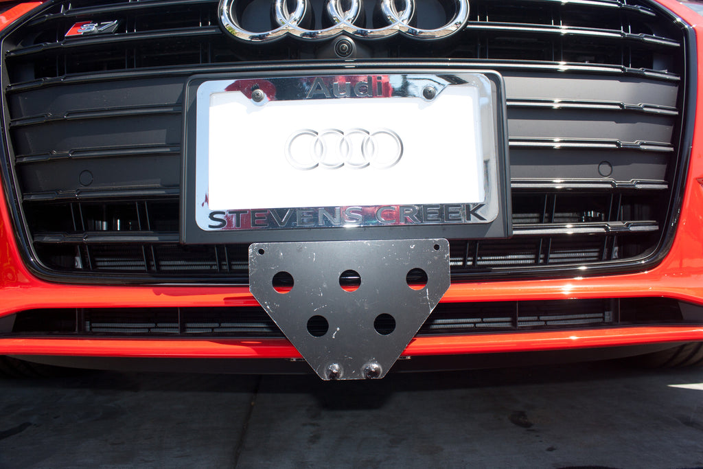 2013-2016 Audi S5 Removable License Plate Bracket