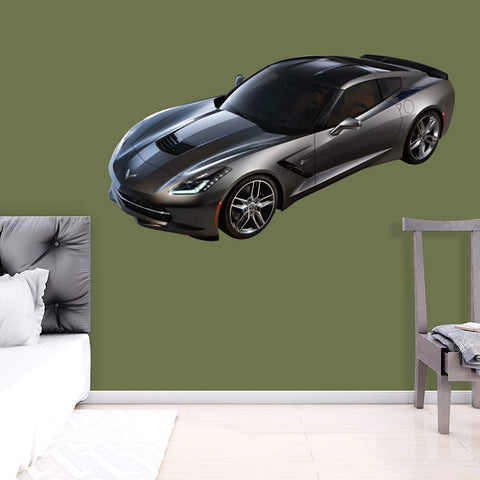 2014 Corvette C7 Stingray  - Fathead Wall Art