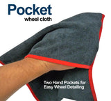 Autofiber Pocket Wheel Cleaning Cloth