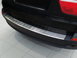 2007 - 2010 BMW X5 E70 - Stainless Steel Rear Bumper Protector