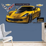 Corvette Z06 - Fathead Wall Art