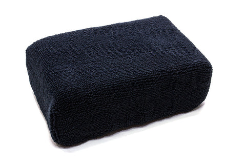 Microfiber Block Sponge for Tire and Trim Detailing - Large  6'' x 4'' x 2''
