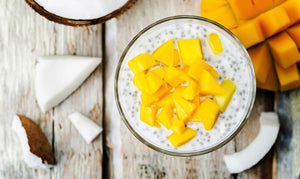 Mango Party Coconut Chia Pudding