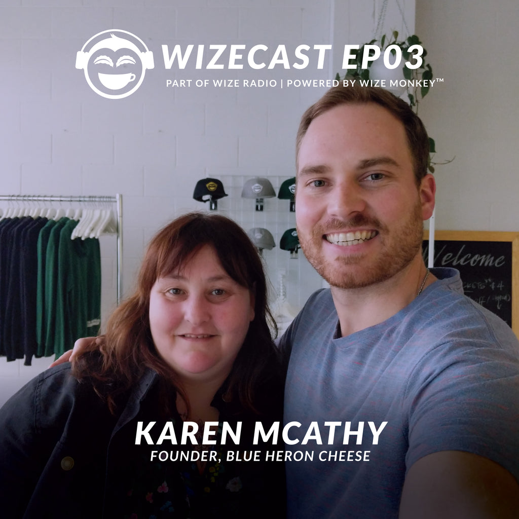 WizeCast EP03: Karen McAthy, Co-Founder of Blue Heron