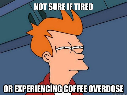 caffeine overdose futurama coffee guide wize tea