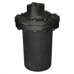1 1/2 in NPT 215/20 Inverted Bucket Steam Trap, Cast Iron, with Stainless Steel Bucket, Bottom Inlet Top - Top Outlet, PMO 180 psig