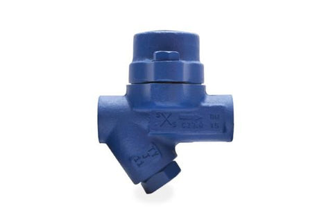 1/2 in NPT BPC32Y Balanced Pressure Thermostatic Steam Trap with Sub-Cooled Capsule & Integral Strainer, Carbon Steel