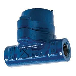 1/2 in NPT BPC32 Balanced Pressure Thermostatic Steam Trap with Standard Capsule, Carbon Steel