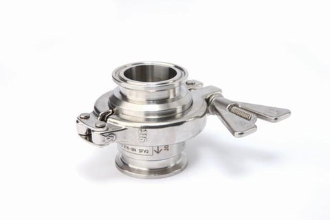 3/4 Sanitary Clamp BT6-B Balance Pressure Thermostatic Steam Trap, Stainless Steel