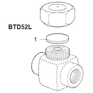 All Sizes  BTD52L Thermo-Dynamic Steam Trap Disc, 1
