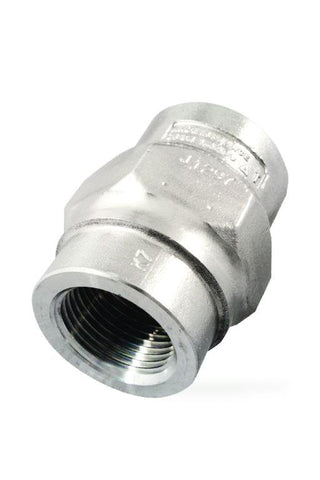 1 in NPT DCV41 Spring Loaded Disc Check Valve, Austenitic Stainless Steel
