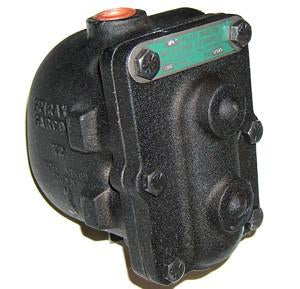 1 in NPT FA-75 Liquid Drain Trap, Cast Iron, Parallel Piping Connections