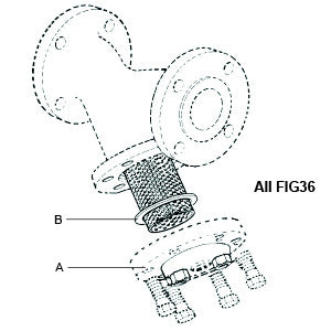 4 in  FIG36 Y-Strainer Cap Gasket