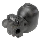 1 in NPT FT14-14HC Float & Thermostatic Steam Trap, High Capacity, Ductile Iron, PMO 200 psig