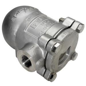 1/2 in ANSI 150 FTS14-10 Float & Thermostatic Steam Trap, Austenitic Stainless Steel, PMO 145 psig