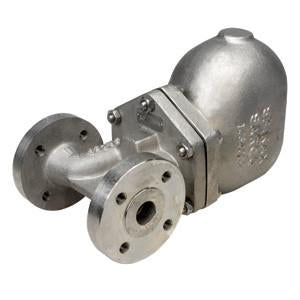 1/2 in ANSI 150 FT46-4.5 Float & Thermostatic Steam Trap, Stainless Steel, PMO 65 psig