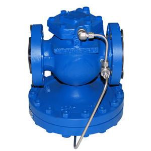4 in ANSI 300 25 Series Main Valve, Cast Steel, with Stainless Steel Transmission Tubing