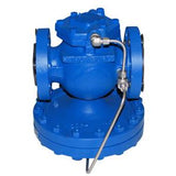 2-1/2 ANSI 150 25 Series Main Valve, Cast Steel, with Stainless Steel Transmission Tubing