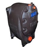 1 in  PPEC Low-Profile Pressure Powered Pump Cover & Complete Mechanism Assembly, Cast Steel, s.g. 1.0 - .9, 10
