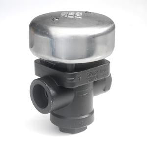 1 in NPT TD62LM Thermo-Dynamic Steam Trap with Blowdown, Alloy Steel, Standard Capacity Maintainable Seat