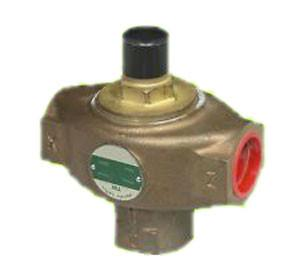 1 1/2 in NPT TW Three Way Mixing / Diverting Regulator, Bronze