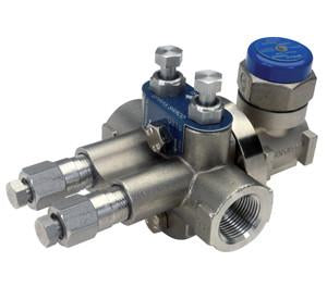 UTD52SH Universal Thermo-Dynamic Steam Trap with Strainer & Blowdown, Stainless Steel, High Capacity