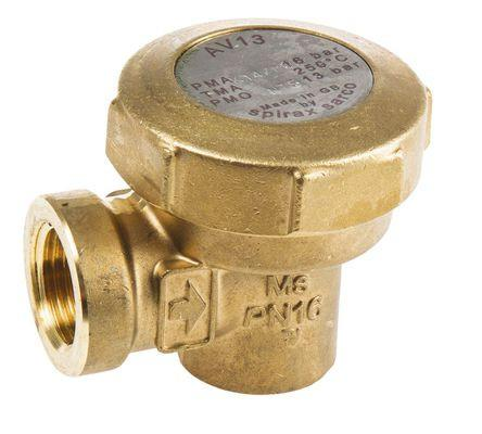 3/4 in NPT AV13 Air Vent, Brass