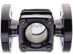 1 in ANSI 150 SGS40 Sight Glass, Stainless Steel