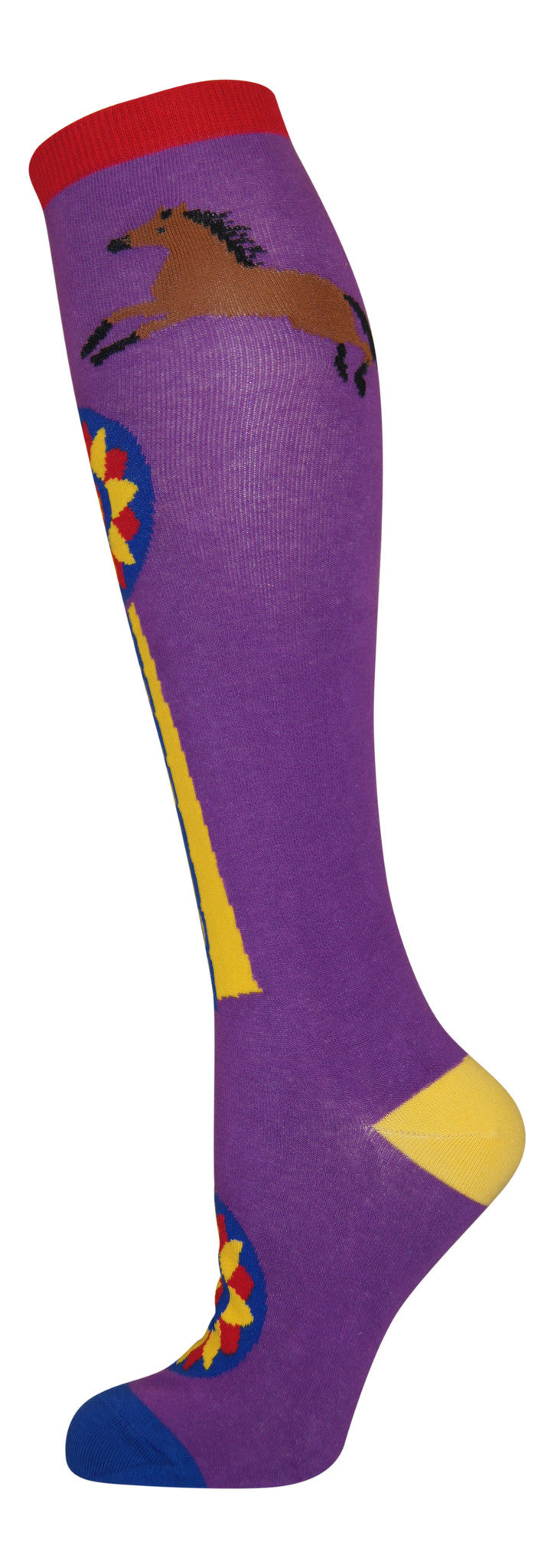 """Champion"" cotton-rich knee sock from lucky7socks.com"