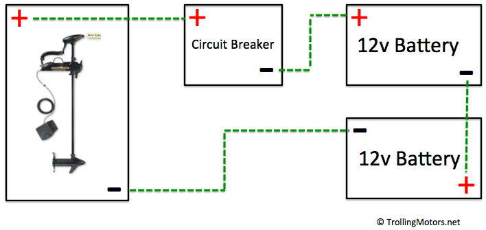 24 and 36-volt Wiring Diagrams – TrollingMotors net