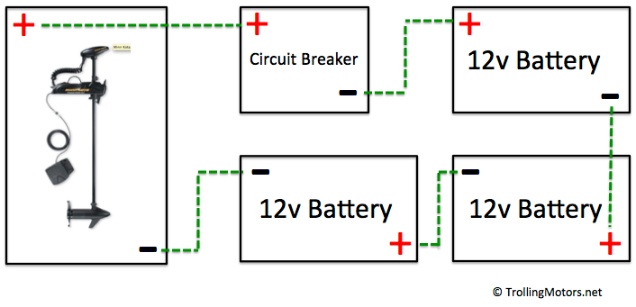 24 and 36 volt wiring diagrams \u2013 trollingmotors net Schumacher Battery Charger Wiring Diagram 36 volt wiring diagram