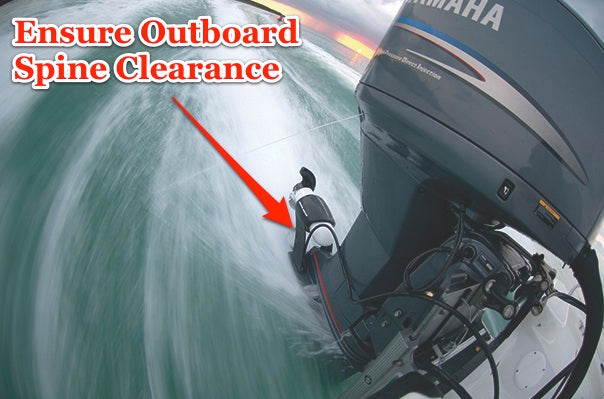 Engine Mount Outboard Spine Clearance