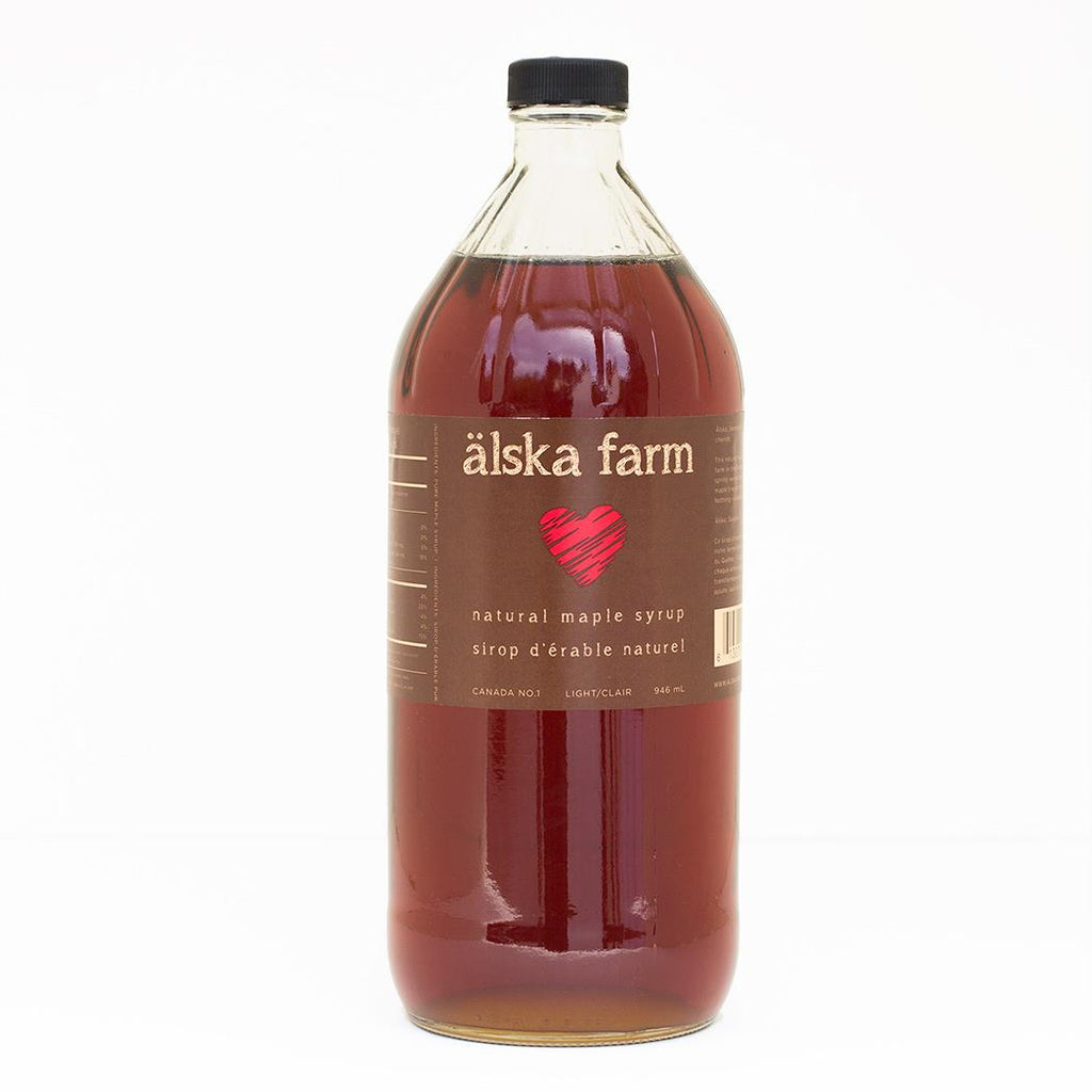 Maple Syrup Amber 946ml