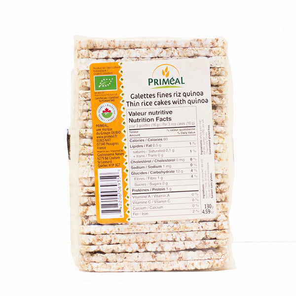 Rice cakes with Quinoa 130g