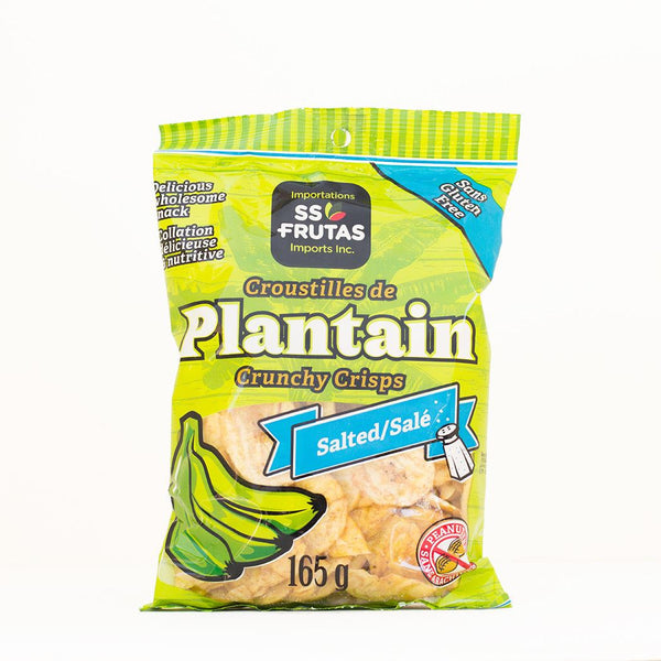 Plantain Chips - Salted 165 g