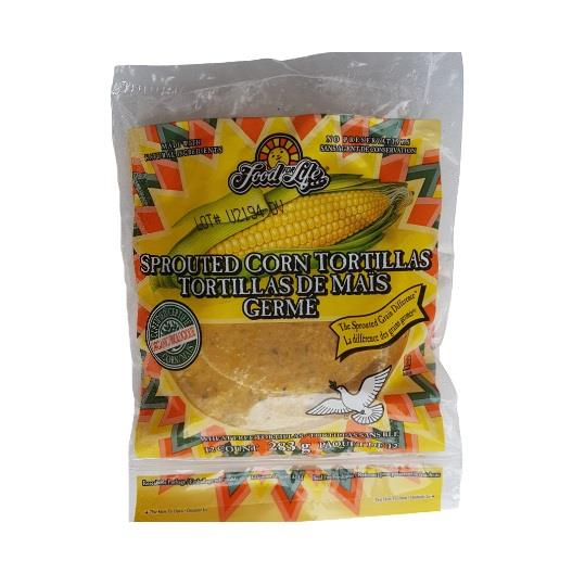 Sprouted Corn Tortillas 283g