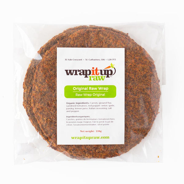 Original Raw Vegan Wrap 210g