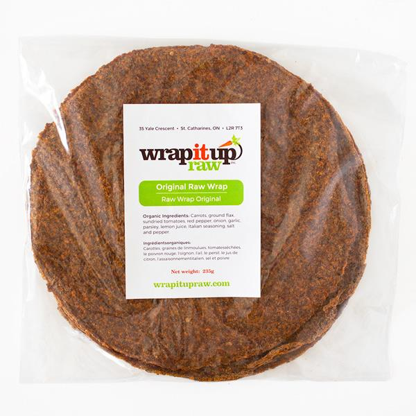Original Raw Vegan Wraps 235g