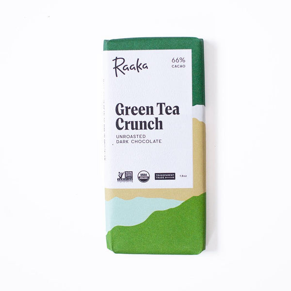 Dark Chocolate Green Tea Crunch 66%