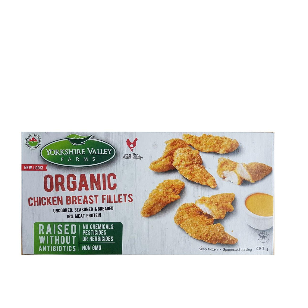Organic Chicken Breast Fillets 480g