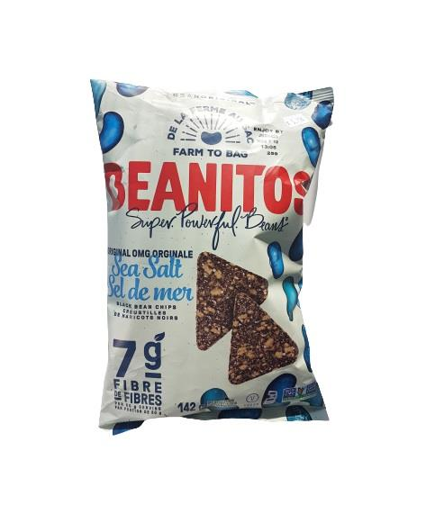 Black Bean Chips - Sea Salt 142g