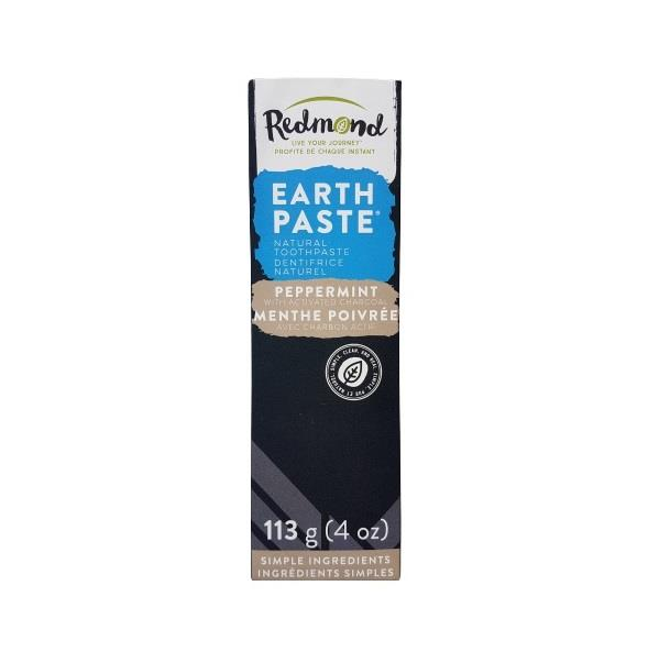 Natural Toothpaste Peppermint & Activated Charcoal 113g